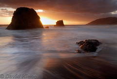 Another Sunset Photo from Westport-Union Landing State Beach, Mendocino County, California