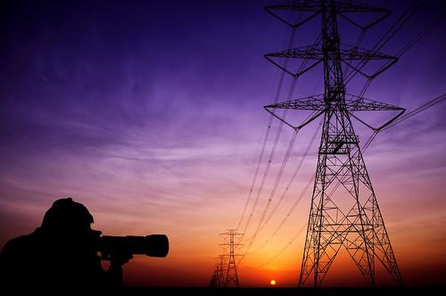 sky plant silhouette sunrise power pylon saudi arabia shooter ikaw ay riyadh pinoy getzy777 jalajil