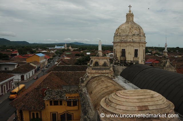 View of La Merced from the Top - Granada, Nicaragua