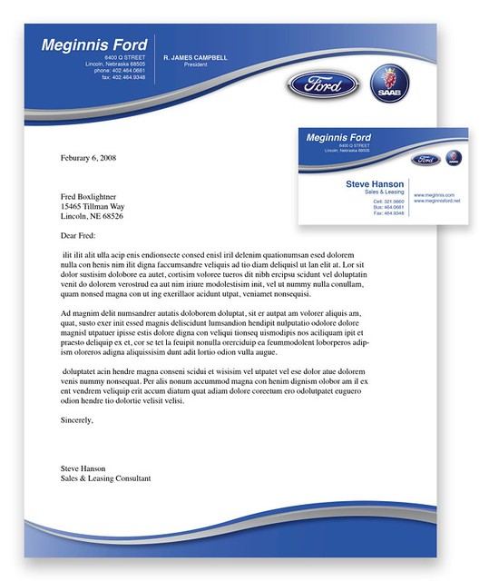 Ford Dealership Stationary A Photo On Flickriver