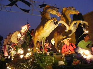 Ferias y fiestas 20009 - Desfile de carrozas: Caballos