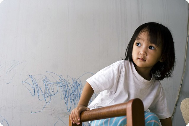 Faizah and her graffiti work