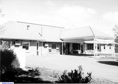 The front view of the Mallala Hospital  looking SE