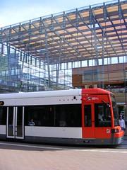 BSAG Tram at Bremen University  Straßenbahn  Universität Bremen.