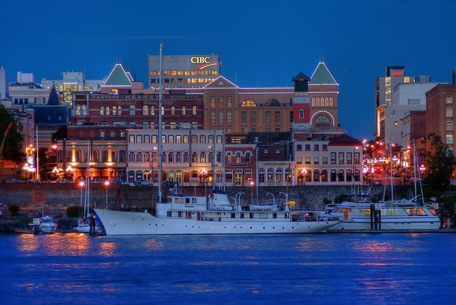 The Blue Hour in Victoria