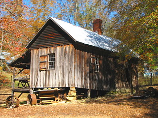 Tool house Jarrell Plantation | by B A Bowen Photography