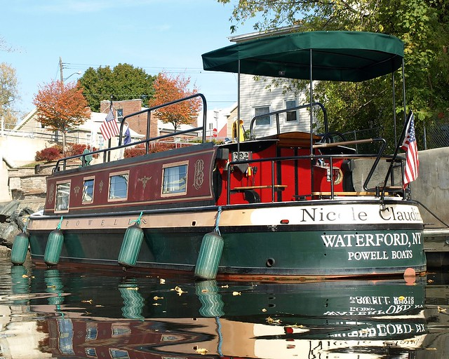 powell canal boat mohawk river waterford ny flickr