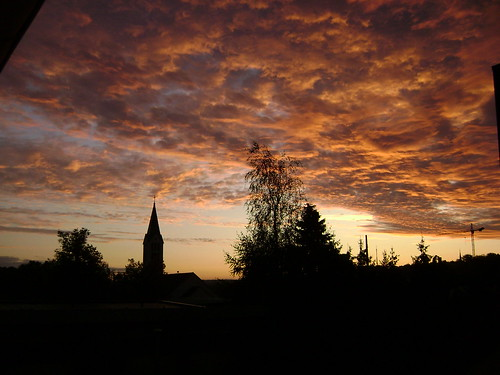 orange cloud church silhouette night sunrise germany landscape deutschland cloudy nuage paysage allemagne eglise saarland leverdesoleil sarre igb stingbert sanktingbert planetearthourhome hélèned planetearthsunrisesunsets saintingbert saarlandfavorites