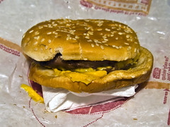 Burger King double cheeseburger (foodirl.com submission)