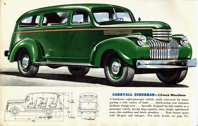 Subarban >> 1941 Chevrolet Carryall Suburban | Flickr - Photo Sharing!