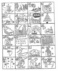 Can you guess the Christmas songs from the pictures?