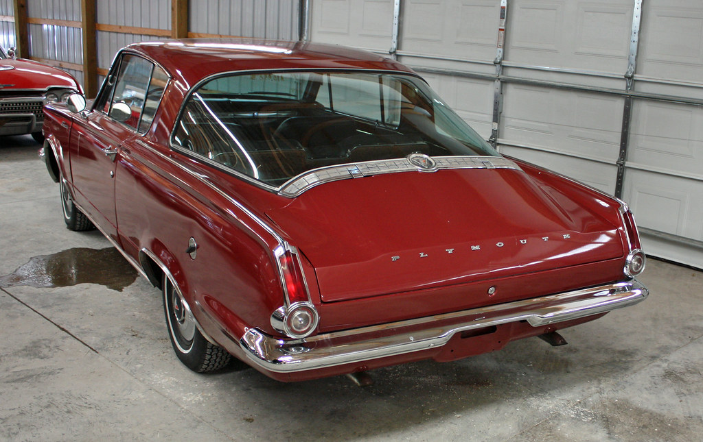 1965 Plymouth Barracuda Fastback Coupe 4 Of 6 Flickr