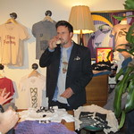 David Arquette at Propr Clothing Store Opening
