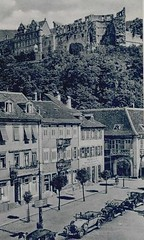 Kornmarkt in Heidelberg, Germany