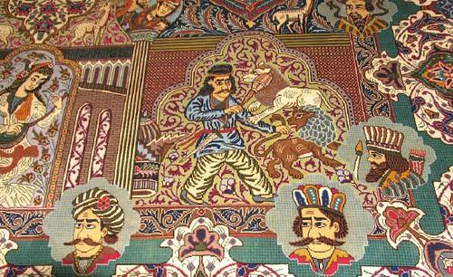 Kashmar Kings Persian Rug Flickr Photo Sharing