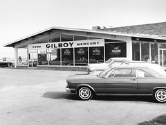 Gilboy Ford Mercury, Allentown PA, 1965