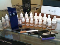 E-cig collection