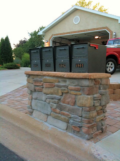Architectural Mailboxes Oasis Install Gallery
