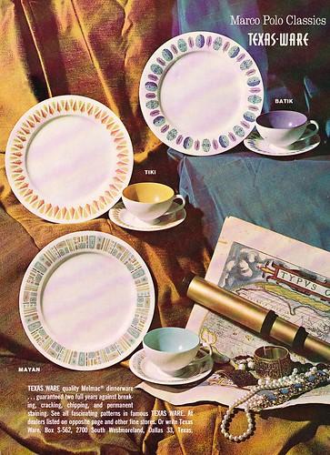 1962 Texas Ware Melmac Ad