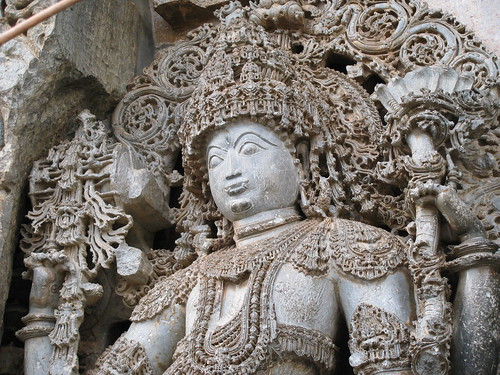 The Highly Ornamented Guardian (Hoysala Style) by Swaminathan Natarajan