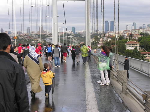 Népfutás az isztambuli maratonon