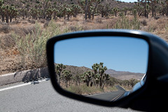 automobile, automotive exterior, automotive mirror, road trip, vehicle, rear-view mirror, reflection,
