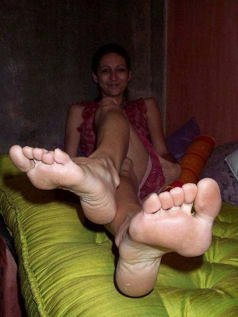 Mature Female Foot 116