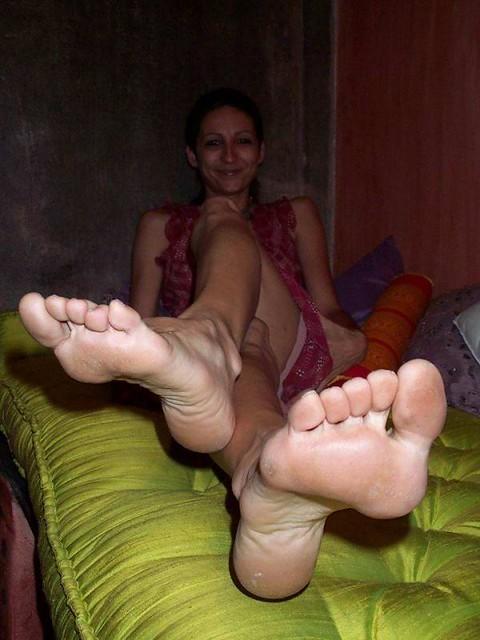 Mature Female Foot 116