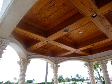 Solid Wood Ceiling On Patio Wood Ceiling Patio Luxury