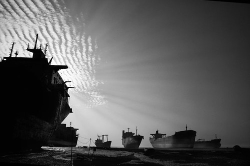 Ship Breaking Yard