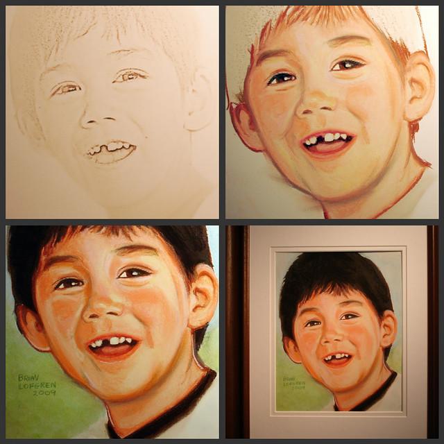 Portrait stages
