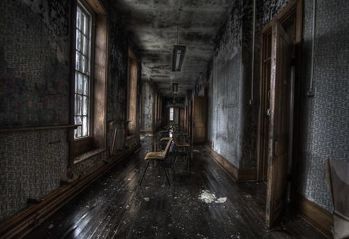 Abandoned asylum T