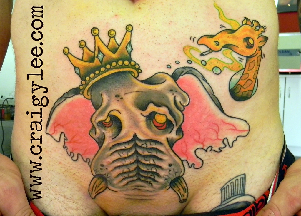 Elephant Tattoo Iknowcraig At Hotmailcom Wwwcraigyleecom W Flickr