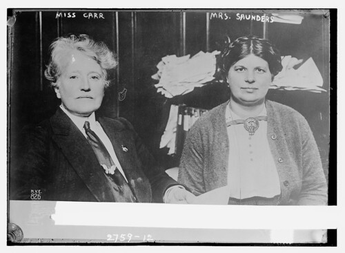 Miss Carr [and] Mrs. Saunders  (LOC)
