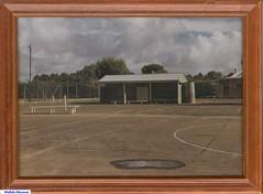 Mallala Tennis Club shed prior to 1979.