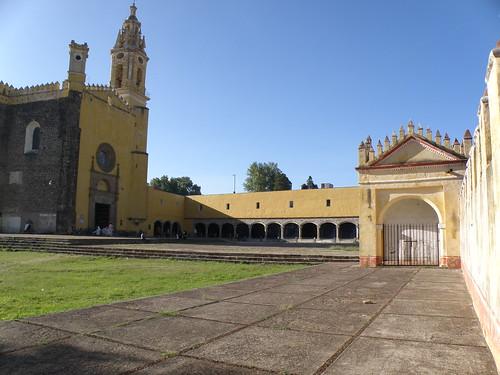 P8230508 El convento de San Gabriel en Cholula.,Puebla. Mexico por LAE Manuel Vela