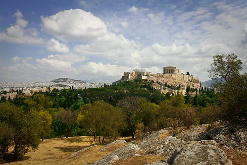 city trip vacation holiday skyline landscape greek temple ancient ruins cityscape hill columns athens unesco parthenon greece getty marble acropolis athena athensgreece travelphotos vacationphotos arcopolis hillofthemuses athenianacropolis gapsubmitted