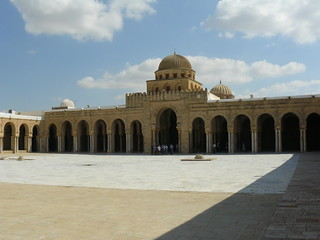 Courtyard of the Great Mosque, Kairouan