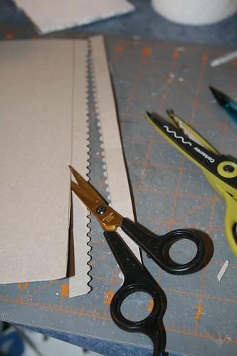 Tutorial for making fences for putz houses christmas for Separation decorative entre 2 pieces