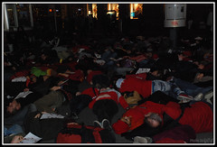 GSoA - Flashmob - Zurich - Paradeplatz