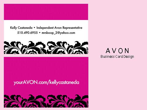 Avon Business Card 2