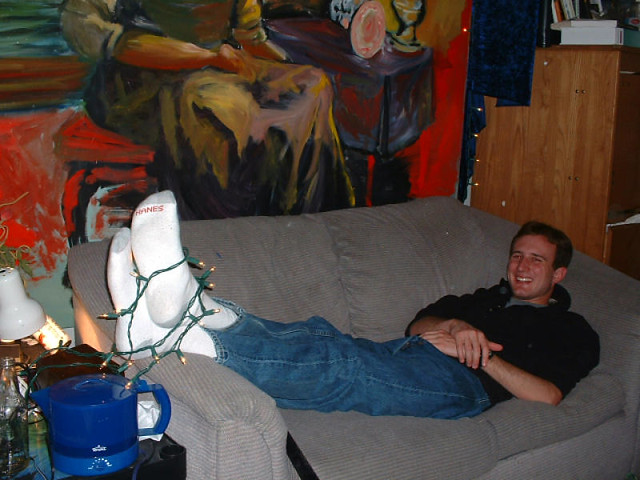 Christmas Light Sock Hunk