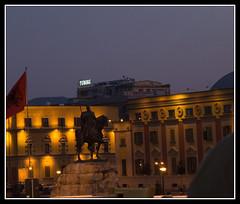 Skanderbeg la nuit