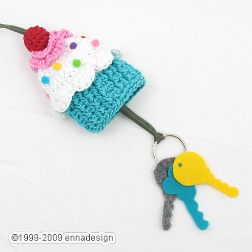 Crochet Patterns Key : Crochet Cupcake Key Cozy Flickr - Photo Sharing!