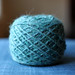 Ball of Turquoise Ultra-Alpaca Yarn