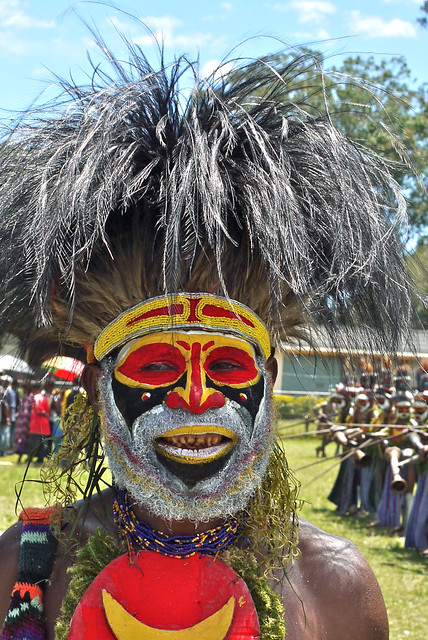 Goroka - Festivity of Independance - PNG