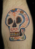 Sugar Skull Tattoo Paulo Madeira Tattoo Artist