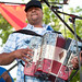 Keith Frank and the Soileau Zydeco Band at 2011 Breaux Bridge Crawfish Festival