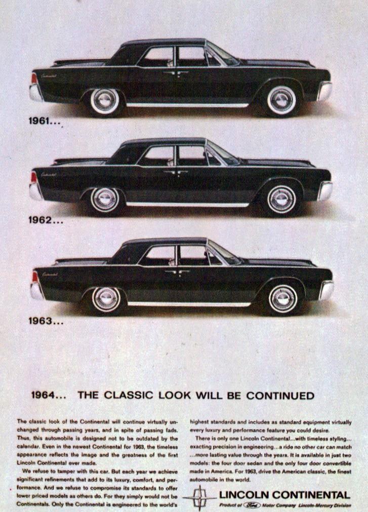 1961 1962 1963 lincoln continental sedan a photo on flickriver. Black Bedroom Furniture Sets. Home Design Ideas