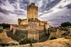 Castillo de la Mota, famous old castle in Valladolid, Spain. by Bakh2013